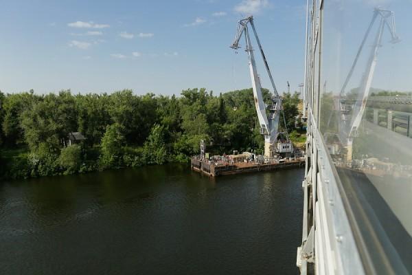 Движение по новому мосту через Ахтубу в Волгоградской области откроется в этом году
