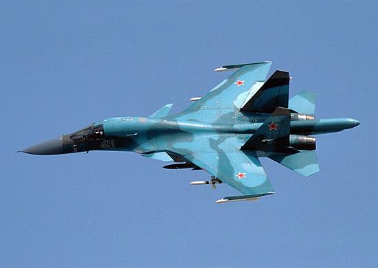 Новые бомбардировщики Су-34 поступили на военный аэродром в соседней с Волгоградской Ростовской области