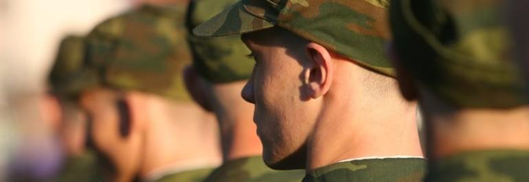 28 волжских новобранцев пополнили ряды Вооружённых сил Российской Федерации