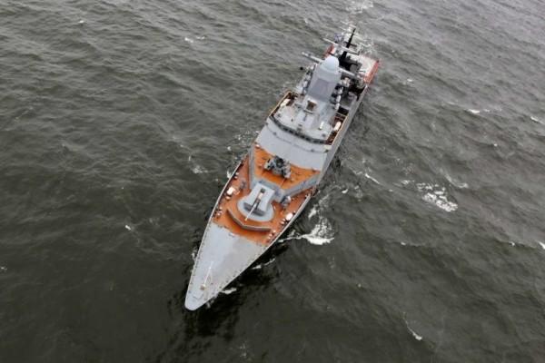15 кораблей Балтийского флота провели учебный артиллерийский бой
