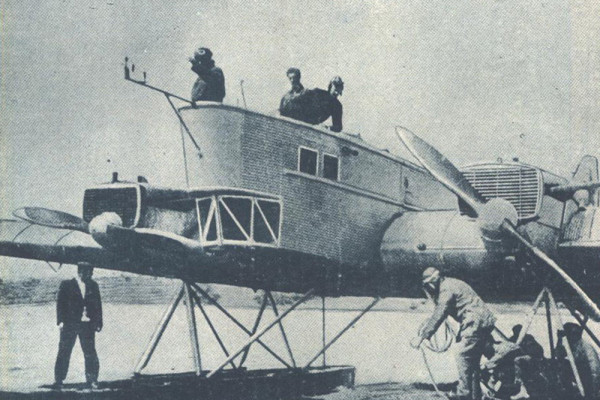 26 ноября 1925 года состоялся первый полет бомбардировщика-торпедоносца ТБ-1
