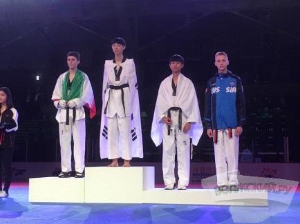 Спортсмен из Волжского — призер первенства Мира по тхэквондо
