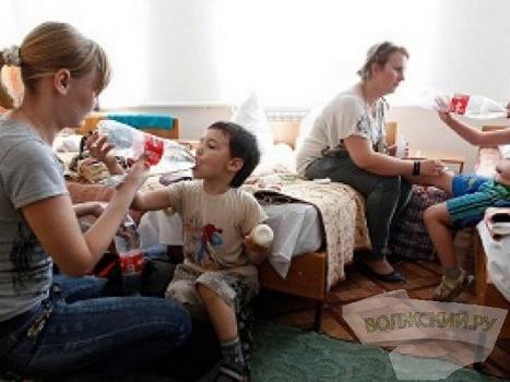 Переселенцам из Украины необходима гуманитарная помощь